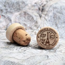 personalized wine stopper paris