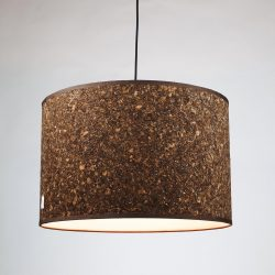 CORK SMOKE LAMP SHADE