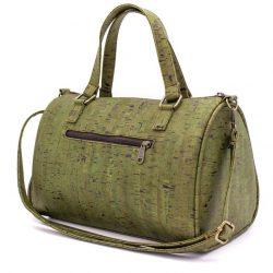 Cork Duffle bag, Vegan travel bag