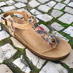 Cork sandals, Vegan sandals for summer