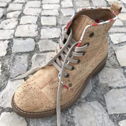Faux Leather Worker Boot, cork boots