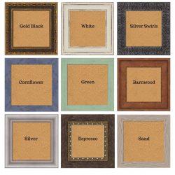 Framed Cork Board Customized