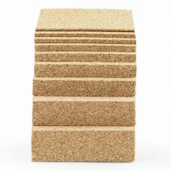 Natural Cork Sheet with Adhesive Backing