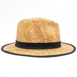 Natural cork round hat - Woman
