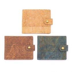 Vegan Cork Wallet, Handmade