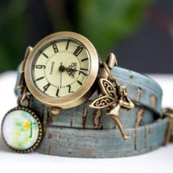 Vegan Wrap Watch, wrist watch cork